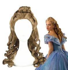 Cinderella Cosplay, Cinderella Dresses, Cinderella Hairstyle, Cinderella Disney, Ponytail Wig, Braids Wig, Cosplay Hair, Cosplay Wigs, Anime Cosplay