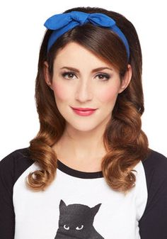Perfect headband for making greasy hair on your travels look pretty! #ModCloth #Travel #Style