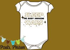 Baby Geek Outfit Baby Nerd Outfit Funny Baby Outfit Sleep Wars The Baby Awakens Outfit Star Wars Inspired Outfit OnePiece Baby Shower Gift by PoshPlease on Etsy https://www.etsy.com/listing/260975707/baby-geek-outfit-baby-nerd-outfit-funny