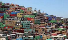 The Jalousie de Petionville neighbourhood in Port-au-Prince. Haiti ...