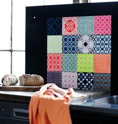 patroon tegels kleur