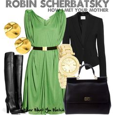 """Perfect to wear while playing the """"Robin Scherbatsky Drinking Game"""""""
