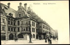 Royal Hofbräuhaus ;-) (Postcard around 1900)