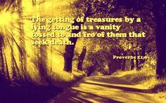 Proverbs 21:16