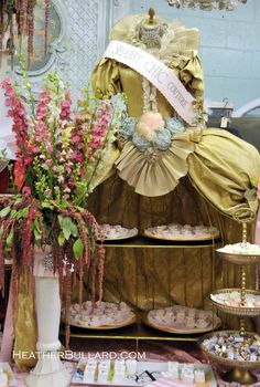 Marie Antoinette with cakes hidden under her skirt.let them eat cake SMILE Joni! Cake And Cupcake Stand, Cake Stands, Party Props, Party Ideas, Dress Form Mannequin, Sweet 16 Parties, For Your Party, Marie Antoinette, Creative Inspiration