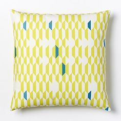 Kate Spade Saturday Shifting Shapes Pillow Cover - Northern Sun #westelm, $34