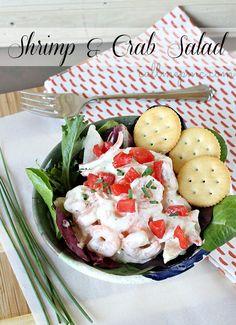 Skinny Shrimp and Crab Salad