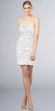 White Cocktail Dresses from JS Boutique Best Cocktail Dresses, White Cocktail Dress, Short Cocktail Dress, Casual Day Dresses, Semi Formal Dresses, Garment District, Hot Dress, Boutique Dresses, Wedding Dresses