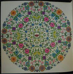 Basford, Secret Garden - colored by Jacqui