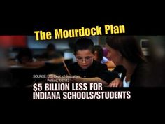 """Richard Mourdock's Extreme Plan to Eliminate the Department of Education"" from the DSCC opposes the Republican candidate for U.S. Senate in Indiana. 10/5/12"
