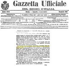 Comando Supremo, Bollettino di Guerra n. 1266, 3 novembre 1918, ore 12 | Voloire!