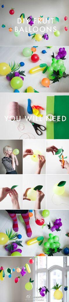 Fruit ballon