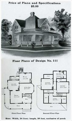 keiths architectural studies no8 retro house plans pinterest study - Vintage Farmhouse Plans