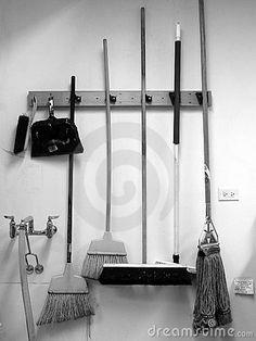Broom/ Dust Pan/ Mop