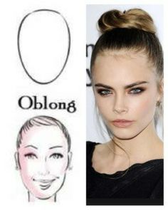 Oblong Shaped Face