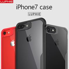 TCICPC Case for Iphone 8 Iphone 8 plus iphone 7 7 plus Luxury silicone frame+ acrylic back cover for iphone 7 case iphone 8 case Iphone 8 Plus, Iphone 8 Cases, Iphone 6, Plus 8, Samsung Galaxy Note 8, Iphone Models, Transparent, 6 Case, Phone Accessories