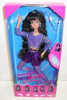 Mattel Dance Moves Barbie. The only brunette doll i had. she had big feet