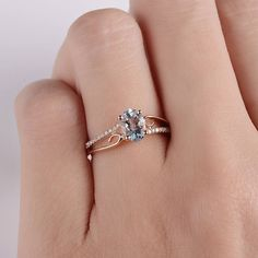 Diamond Wedding Rings Oval Cut Rose Gold Double to Single Band Ring – Sugar Engagement Ring Rose Gold, Wedding Rings Solitaire, Cushion Cut Engagement Ring, Princess Cut Engagement Rings, Bridal Rings, Solitaire Engagement, Princess Wedding, Vintage Princess, Dream Ring