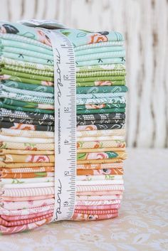 Sugar Pie fabric by Lella Boutiqu for Moda...shipping March 2017. Here's a tasty little collection full of sugar and spice for your fabric pantry. First, mix together sweet posies, whimsical roses, and a p...