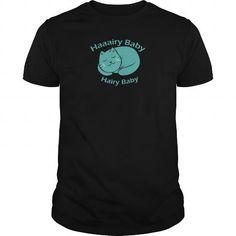 Hairy Baby Black Men's T shirt
