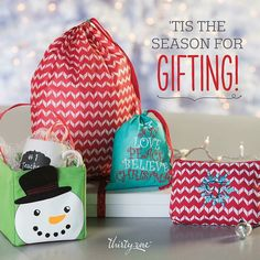 With #thirtyonegifts Gift Giving is easy! #christmas #caddies #gifting #embroidery
