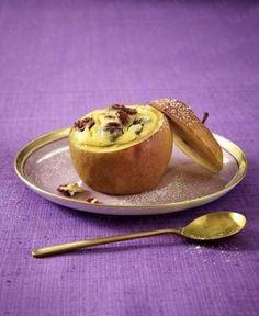 Das Rezept für Bratapfel mit Cranberry-Käsekuchen-Füllung und weitere kostenlose Rezepte auf LECKER.de
