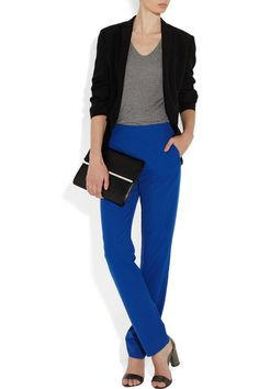 Maison Martin Margiela electric blue pants
