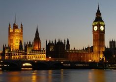 Parliament & Big Ben. London, England. by anna fava