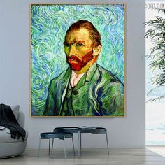 This stunning handmade Vangogh Self Portrait II Painting Print will make your living room look more exclusive and elegant. Painting Prints, Wall Art Prints, Canvas Prints, Van Gogh Prints, Online Art Store, Impressionist Artists, Vincent Van Gogh, Figure Painting, Art Reproductions