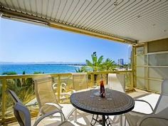 BEACH FRONT APARTMENT CLOSE TO ALL AMENITIES IN THE CENTRE OF SALOU S206-291 BARCINO   Holiday Rental in Salou from @HomeAwayUK #holiday #rental #travel #homeaway Family Apartment, 2 Bedroom Apartment, Outdoor Tables, Outdoor Decor, Home And Away, Centre, Outdoor Furniture Sets, City, Beach