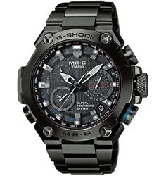 Потрясающий  дизайн, идеальное исполнение и множество изящных технических решений — это  эксклюзивные часы MR-G из высококачественного титана. Рассмотреть сейчас!