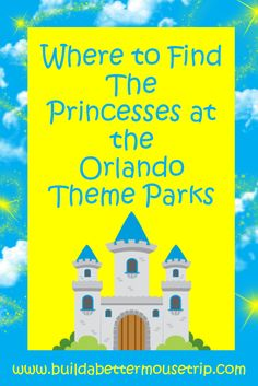 Disney World Tips and Tricks - Are you headed to the Orlando theme parks?   Do you love the princesses?   We'll show you were to find Cinderella, Sleeping Beauty, Snow White, Rapunzel, the Little Mermaid, Tiana, Anna, Elsa, Belle, Jasmine, and the Little Mermaid.