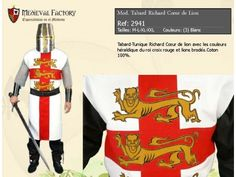 Medieval Knight Costume, Costumes, Image, Red Cross, Dress Up Clothes, Fancy Dress, Men's Costumes, Suits