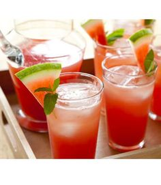 Non-Alcoholic Summer Drink Recipes - Easy Drink Recipes for Summer