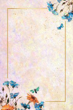 Download premium illustration of Rectangle gold frame on pastel background