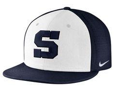 b79718e7411 Penn State Baseball Nike Dri-Fit True Vapor Hat WHITE