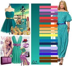 Spring or light warm combos color palette Color Combinations For Clothes, Color Combos, Fashion Colours, Colorful Fashion, Color Type, Image Coach, Deep Winter Colors, Spring Color Palette, Seasonal Color Analysis