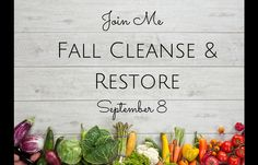 You're Invited: Fall Cleanse & Restore! - Mama Balance