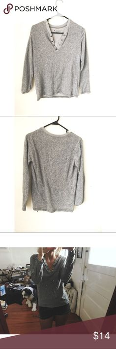 Charles & Charles unisex thermal XS NEW Charles & Charles unisex gray long sleeve thermal. XS. 60% cotton 40% polyester. Purchased at Urban Outfitters Urban Outfitters Tops Tees - Long Sleeve