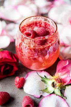 Raspberry Rose Tequi