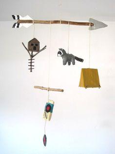 moonrise kingdom mobile. inspiration. fan art. Wes Anderson movie. cute.