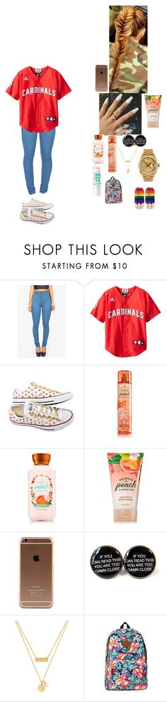 """""""~ school outfit ~"""" by foodislyfe ❤ liked on Polyvore featuring Converse, Rolex, Maybelline, Mr.ace Homme and Living Royal"""