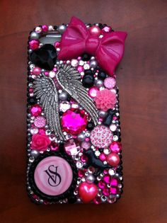 Ohmygod... I NEED this! VS phone case.