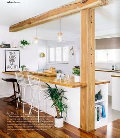 Jelanie blog - Scandinavian inspired family friendly home 2.  Kitchen idea