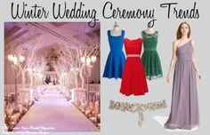 Top 5 Winter Wedding CeremonyTrends
