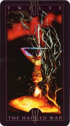 Vertigo Tarot: The Hanged Man