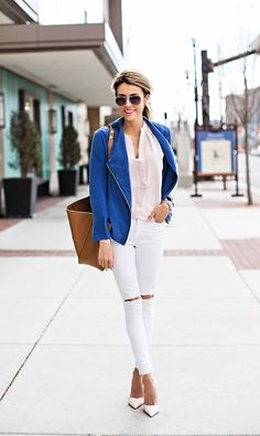 Blue Jacket Inspiration Outfit