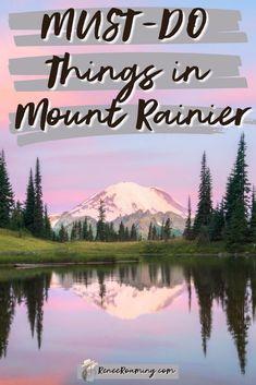 Washington Nationals Park, Washington State, Washington Camping, Mt Rainier National Park, San Francisco, Road Trip Destinations, Amazing Destinations, Us National Parks, To Infinity And Beyond