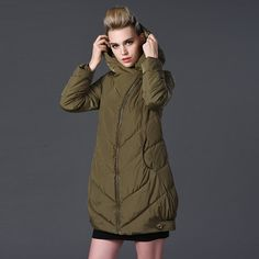 93.50$  Watch now - http://ali40j.worldwells.pw/go.php?t=32720276115 - Women Winter jacket Army green plus size L- 7XL thick cotton padded jacket large size long down parka slim  coat for female TT97 93.50$