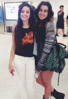Camila Cabello and Lauren Jauregui Fifth Harmony